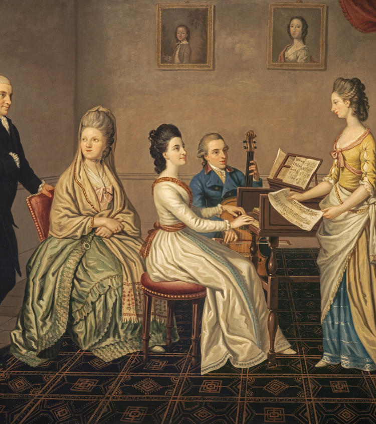 James Erskine, Lord Alva (1722 - 1796) and his family