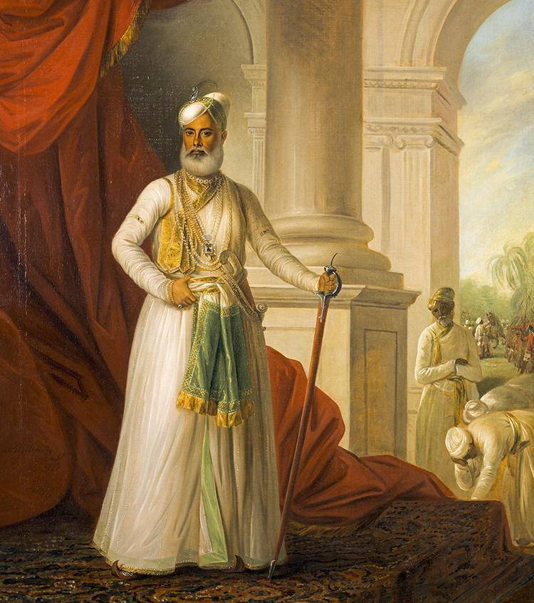 Mohamed Ali Khan Walejah, 1717 - 1795. Nawab of the Carnatic